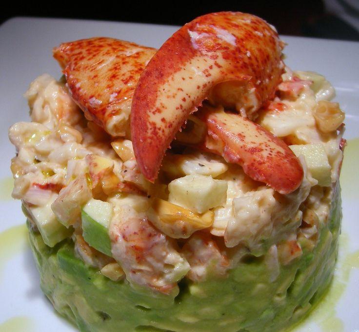 Tartare de homard sur Wikibouffe