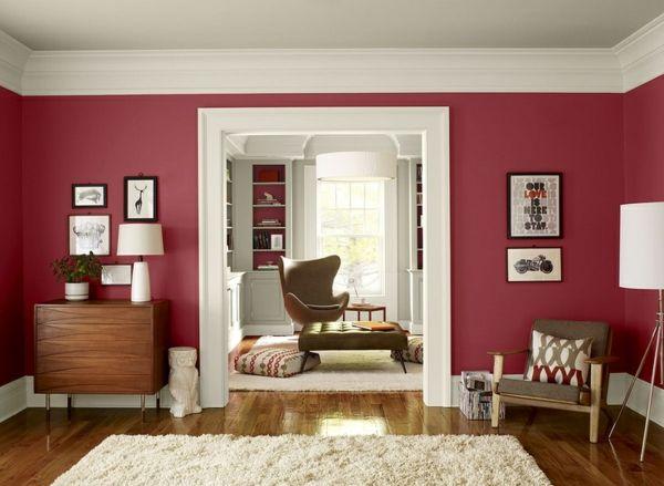 die 25+ besten ideen zu wohnzimmer rot auf pinterest | rotes ... - Bilder Wohnzimmer Rot