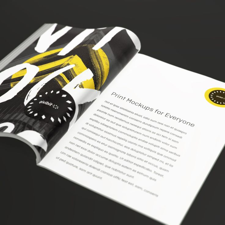 Say hello to magazine mockups made quickly and easily. Showcase design on a range of print, digital and packaging objects in full, glorious 3D. Visit www.qixibit.com for your FREE download!