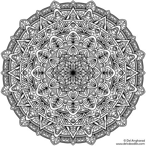 11 best Very Difficult Mandala coloring pages images on ...