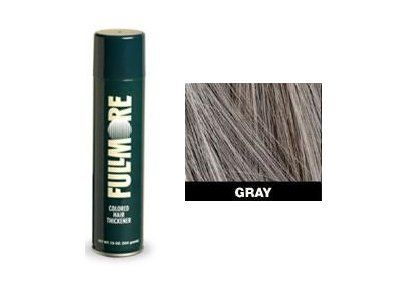 Fullmore Hair Thickening Spray FightS Hair Loss Instantly In Gray + A-Viva Magic Nail Buffer by Fullmore. $37.99. Fullmore is a special blend of space-age polymers and tiny, colored fibers that bond to your hair. In just seconds, bald spots disappear and thin hair looks thick and full again. Fullmore is a revolutionary new concept in the treatment of thinning and balding hair. Formulated for men and woman who want to look their best, Fullmore goes on q...