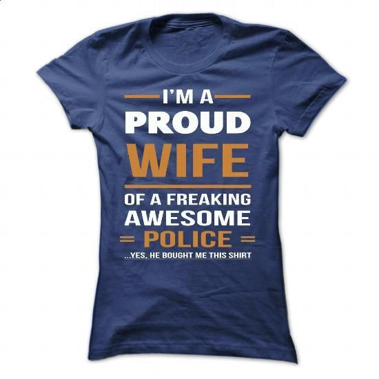 police wife - #vintage t shirts #funny tshirts. BUY NOW => https://www.sunfrog.com/Faith/police-wife-NavyBlue-58718616-Ladies.html?60505