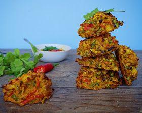 Vanløse blues.....: Indiske pakoras - indbagte grøntsager med mango dip