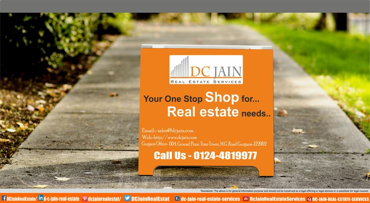 DC JAIN REAL ESTATE SERVICES Your One Stop Shop For .. Real Estate Needs Real Estate Shop  #realestate #gurgaon #home   #dreamhome #residential #realestateagent #realtor #consultant