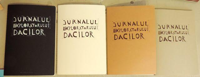 (un)intentional contemporary art in Transylvania: Linocut personalized traveler's journal