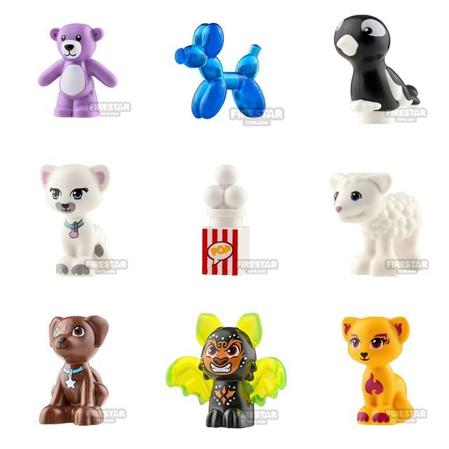 LEGO Teddy Bear minifigure accessory BRAND NEW winter village mr Bean