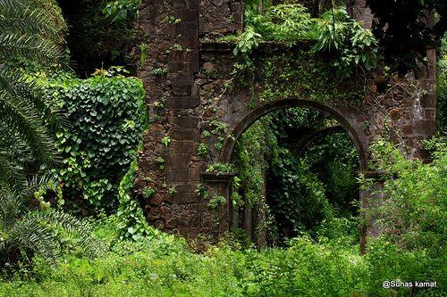 Vasai fort( वसईचा किल्ला ) by suhassky, via Flickr