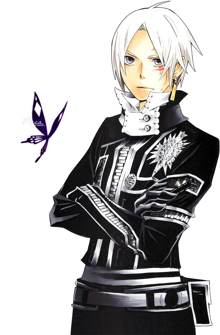 Render d gray man allen walker exorcist black order combinaison ...