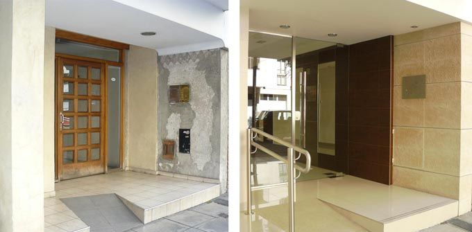 Renovar hall de entrada edificio buscar con google for - Decoracion hall de entrada edificios ...