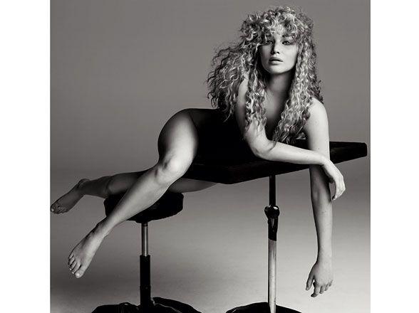 Celebrities Strip Down For W - jennifer lawrence nude