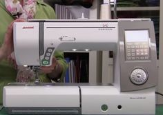 Thread Tension on the Janome Horizon Memory Craft 8900 Sewing Machine