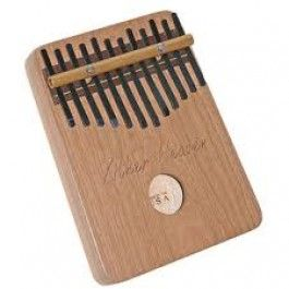Kalimba Thumb Piano is a traditional African instrument that has a delightful sound and is easy to play, even for non-musicians. Made in the USA of cherry and solid birch. $34.95