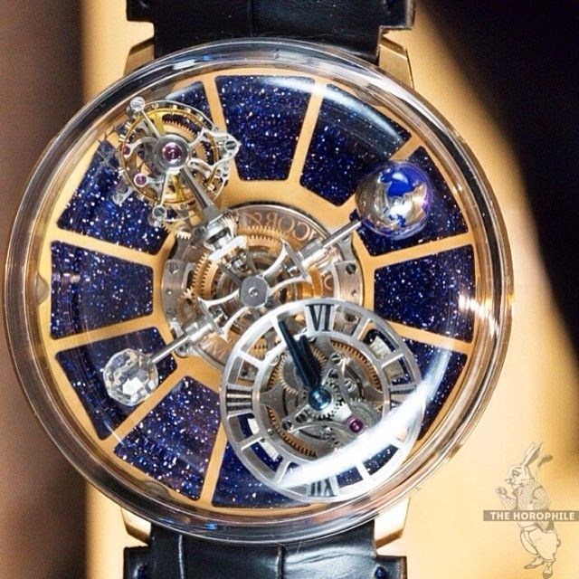 Since everyone seems to really like this one, Jacob & Co Astronomia Tourbillon.