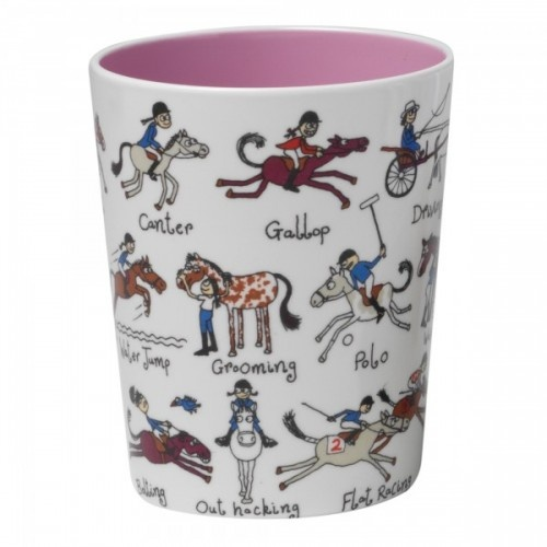 For the Red Rum in your life - Horse Beaker by Tyrrell Katz www.thelunchboxstore.co.uk