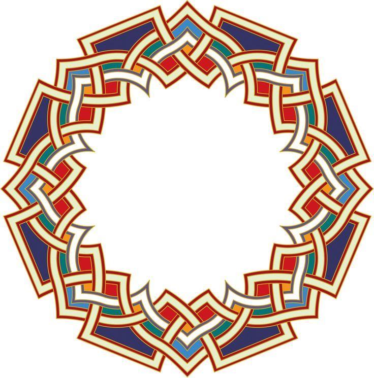 16-Arabesque (Islamic Art)