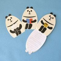 데꼴 다이컷 메모 - 팬더 ※ DECOLE 수첩