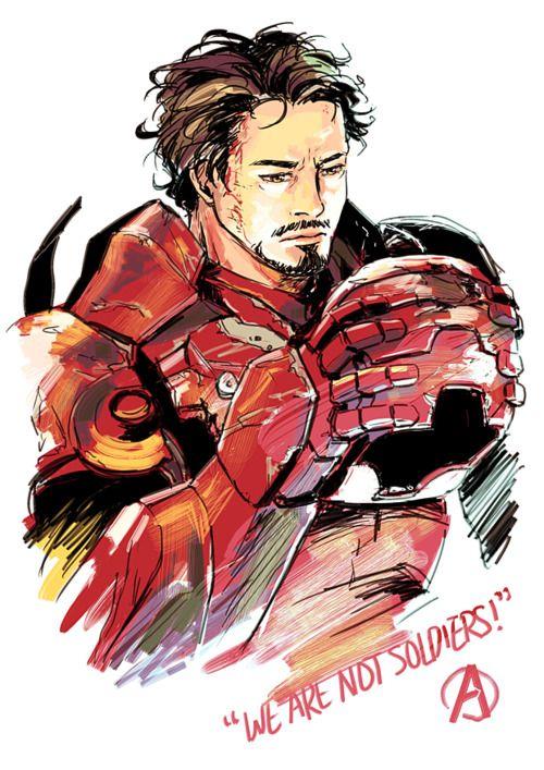 Iron Man/Tony Stark Illustration