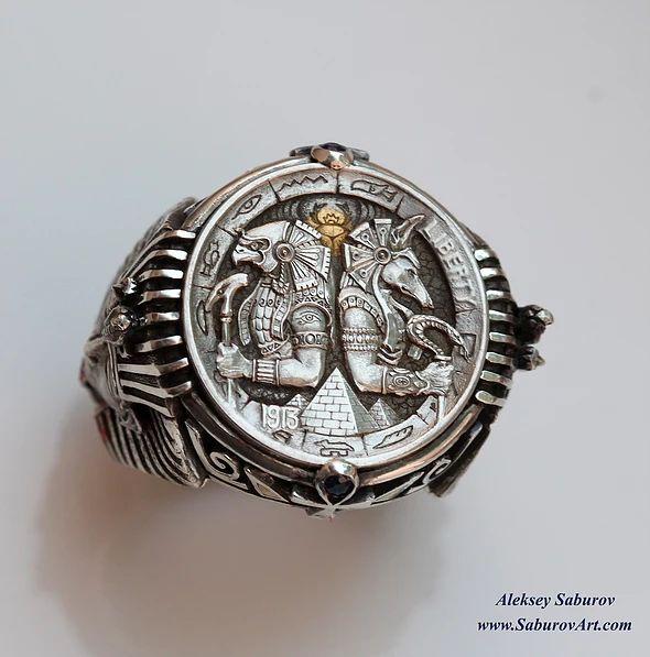 Hobo Ring by Aleksey Saburov