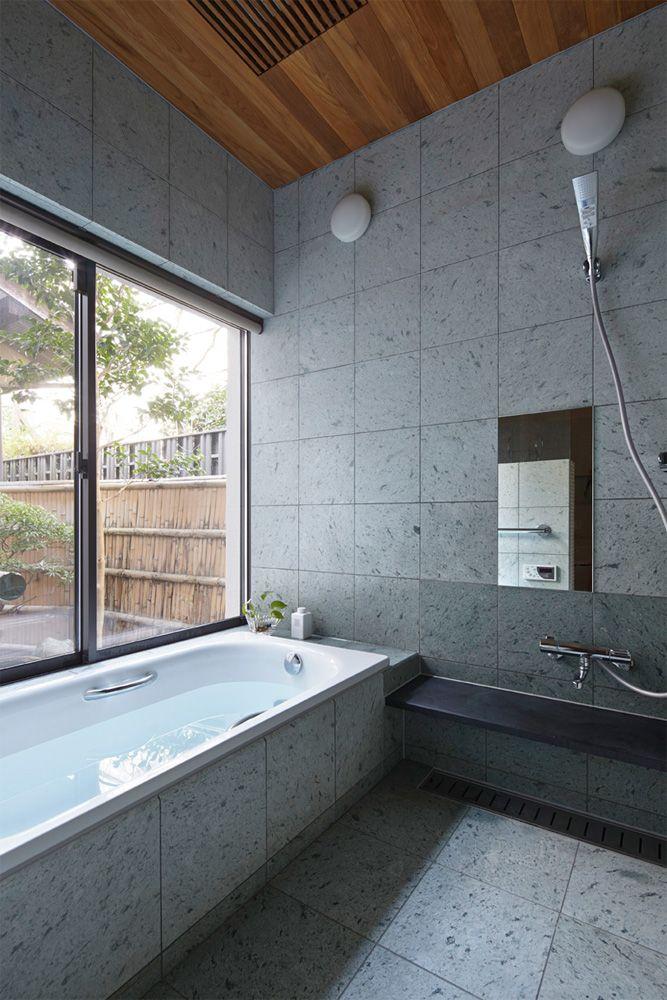 山科の家 Space Clip一級建築士事務所 浴室 デザイン 浴室
