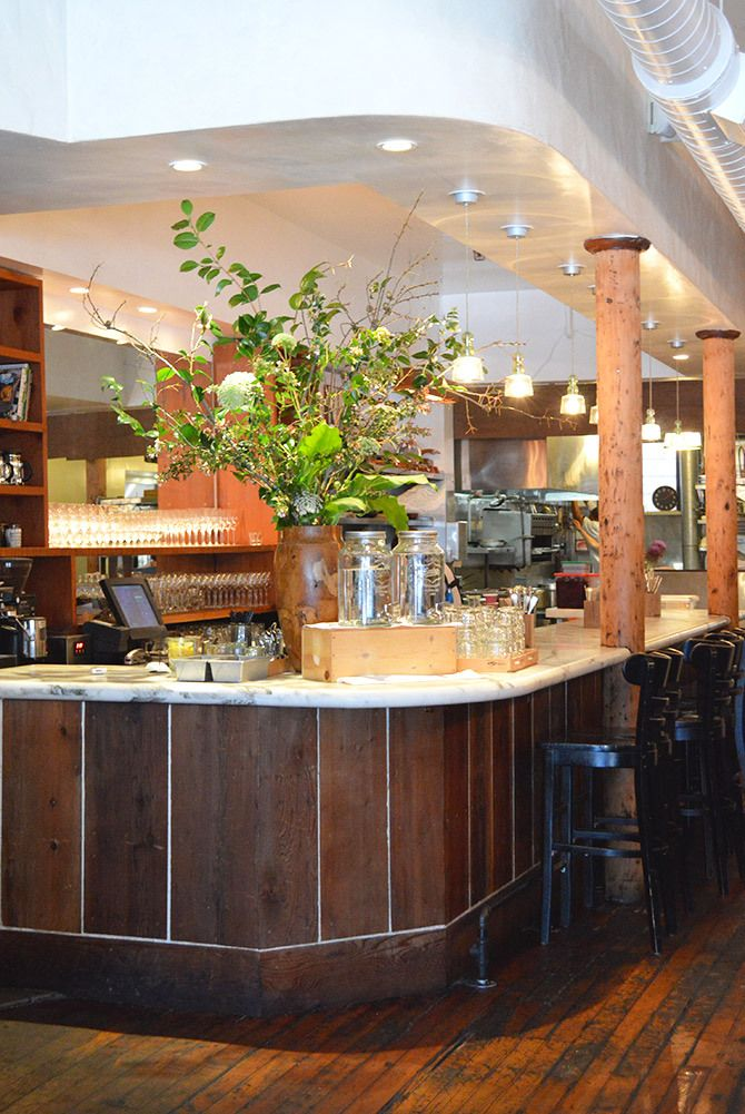 Bar Tartine in the Mission, San Francisco // via Spotted SF
