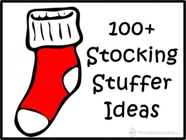 100+ stocking stuffer ideas - for men, women, children, babies...  #t2hmkr