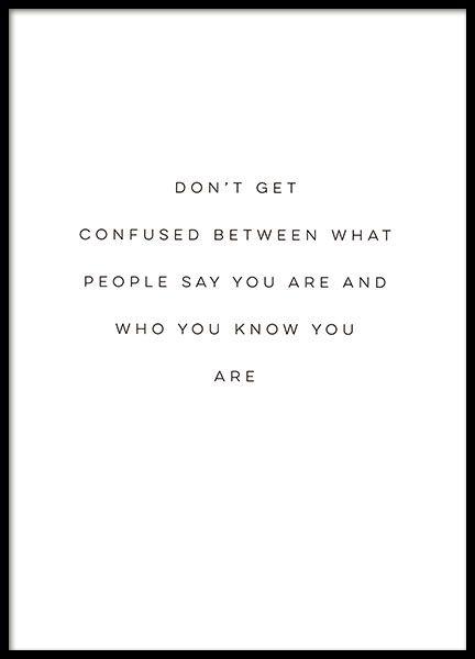 Was andere über dich sagen ist dein Ruf, was du …