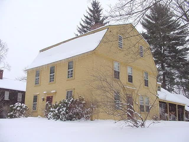 The Nims House   Historic Deerfield, MA 3 Story, Gambrel Roof