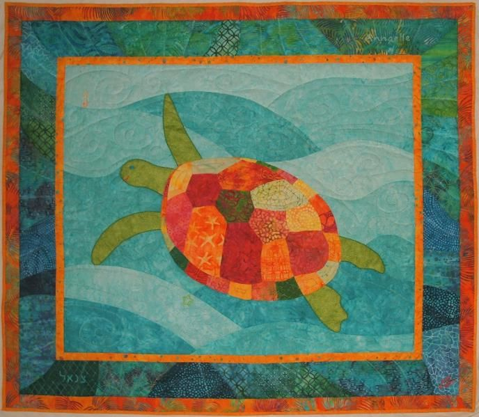Best 25 Turtle Quilt Ideas On Pinterest Ocean Quilt