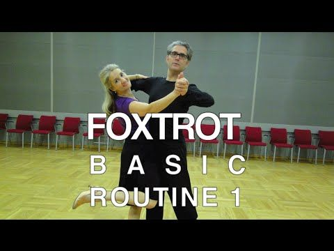 How to Dance Foxtrot - Basic Routine 1