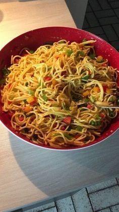 Spaghetti-Curry-Salat – Elke Keller