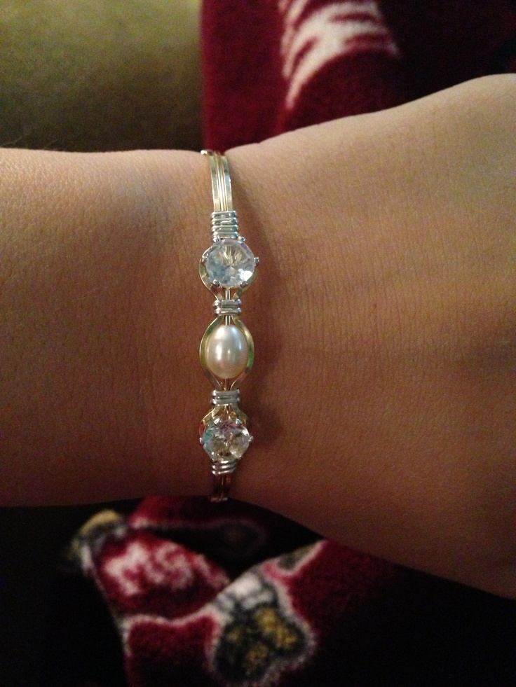 Ronaldo Bracelet : Wildfire : April Birthstone : Thank you SO much Dylan!!! I love you!!!