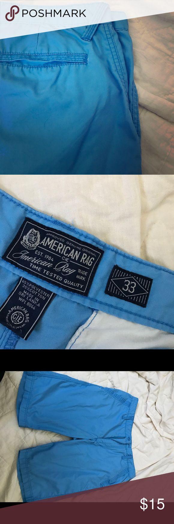 American Rag men's shorts Like new blue shorts for men by American Rag! American Rag Shorts Flat Front