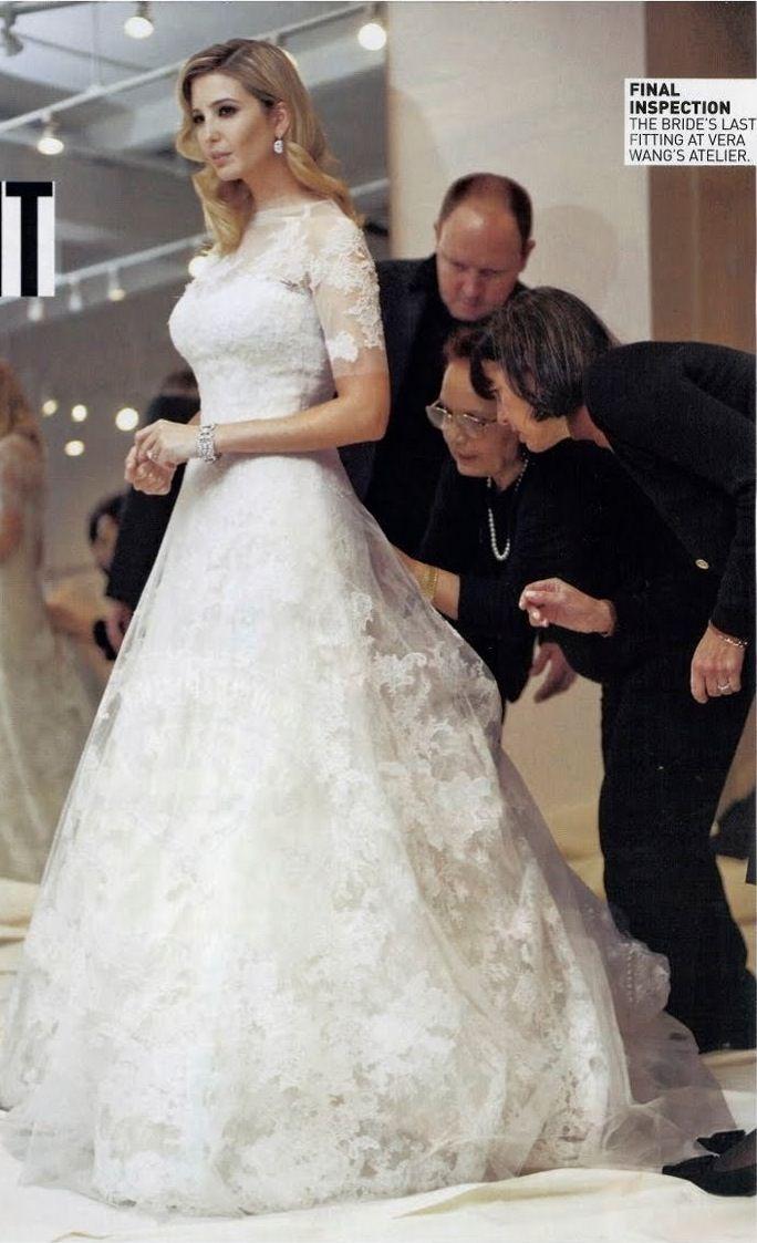 139 best images about ivana trump on pinterest ivanka for Melania trump wedding dress