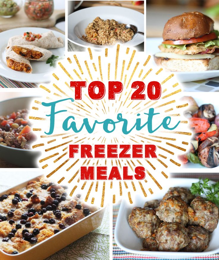 buxton wallets Top 20 Favorite Freezer Meals  These healthy and delicious freezer meals will save you time  money  and make eating healthy meals at home possible