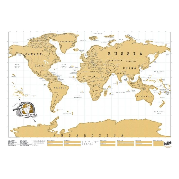 Scratch Map® Original map allows you to proudly display where you have been around the globe! Same day dispatch if ordered before 3.00pm.
