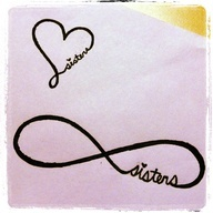 infinity sister tattoos - Google Search