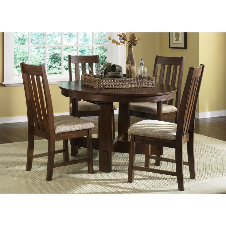 Dining Set   The Liberty Furniture Urban Mission 5 Pc. Dining Set Is An  Elegant Modern Reinvention Of Traditional Mission Style, A Clean Lined, ...