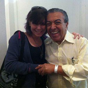 Foi só Maurício de Sousa pisar no Clube Hebraica, momentos antes da palestra que daria no auditório do Pixel Show 2013, para a galera começar a se aglomerar na frente da sala VIP