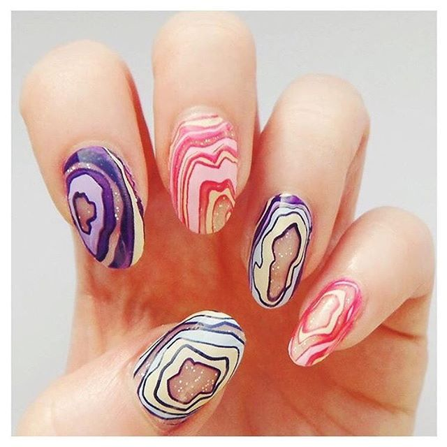 how to fix scratched nail polish
