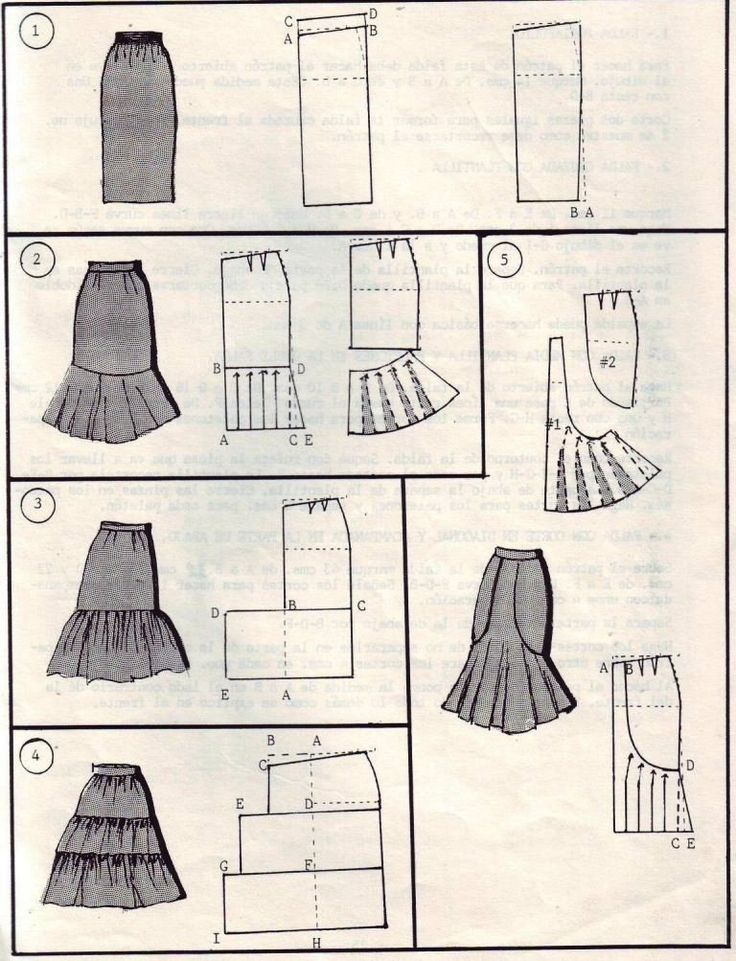How to sew a skirt #DIY #tutorial #clothes #easy