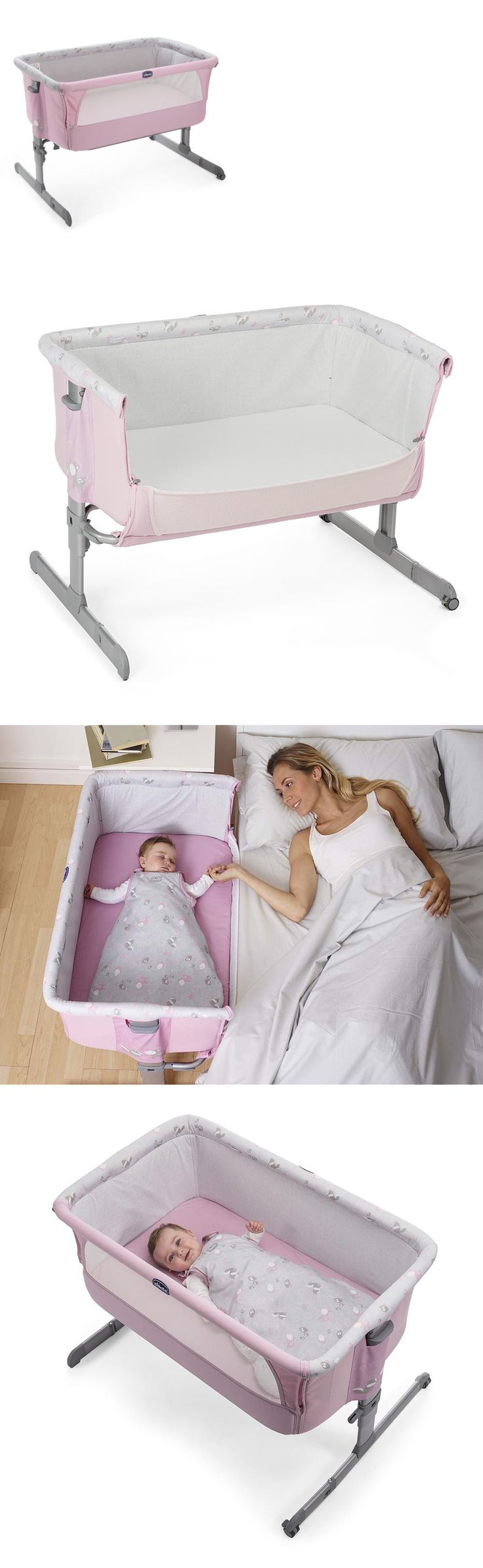 Baby Nursery: Chicco Next 2 Me Princess Side Sleeping Crib Baby Crib New Fast Delivery 2017 -> BUY IT NOW ONLY: $215.0 on eBay!