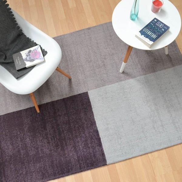 Blox rugs in heather buy online from the rug seller uk