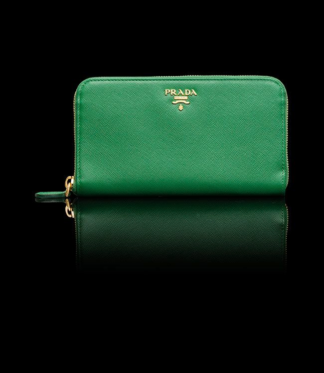brada bag - Green Prada wallet. | Green / emerald green / lime green / jade ...