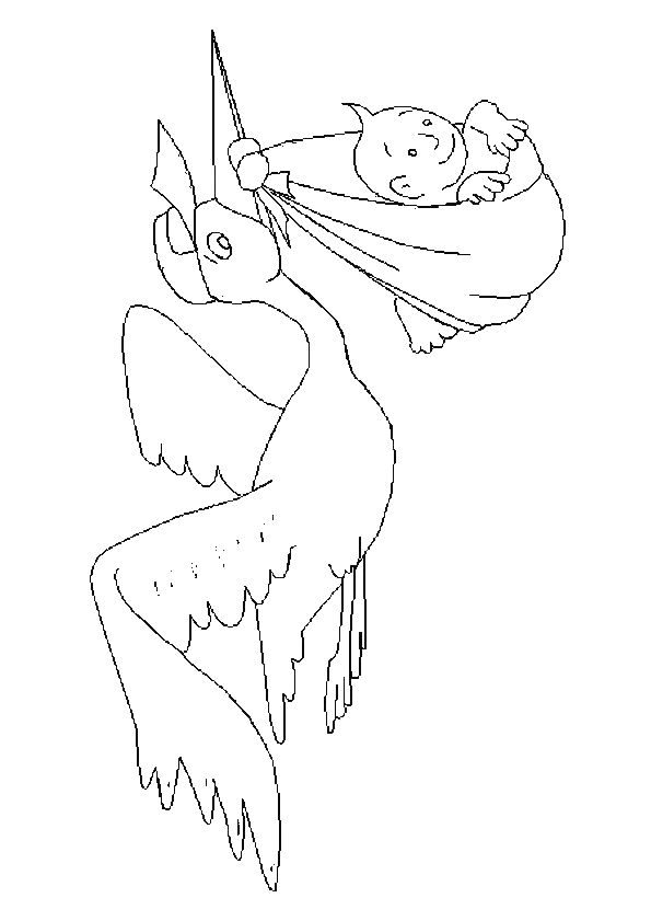 babies coloring page 40 is a coloring page from babies coloring booklet your children express their imagination when they color the babies coloring page - New Baby Coloring Pages