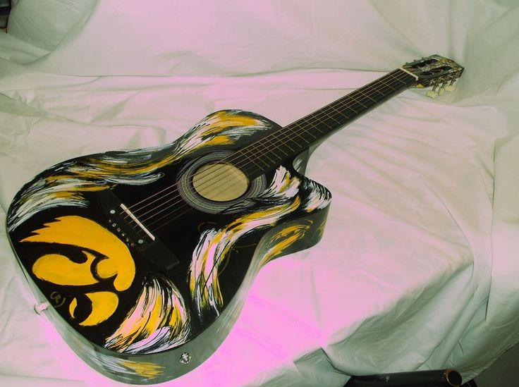 19 best images about Iowa Hawkeye Electric Guitars on Pinterest ...