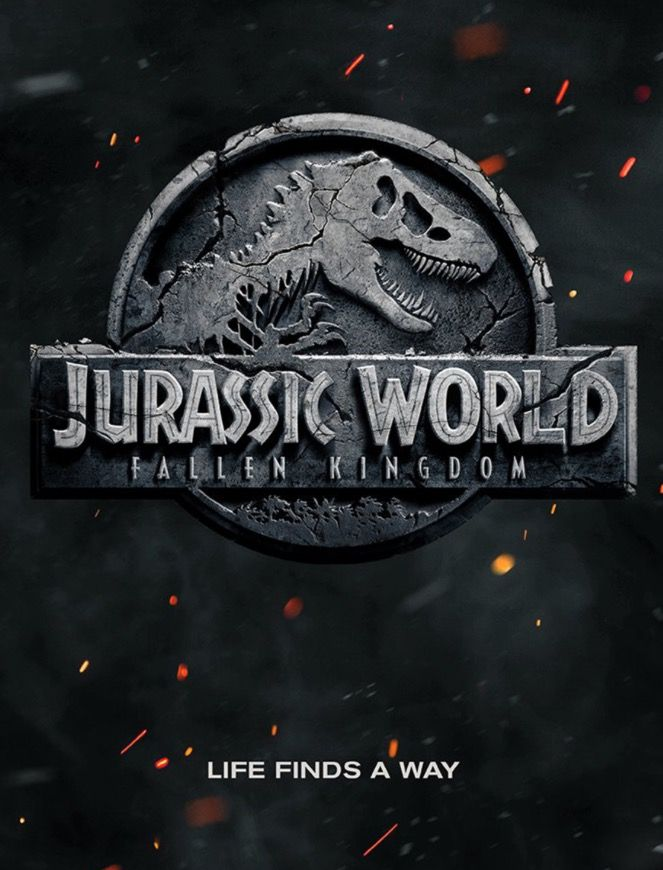 Jurassic World 2 Fallen Kingdom movie poster. Can't wait for this I love all the Jurassic Park movies.