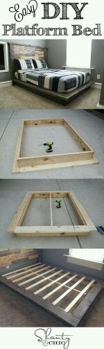 New bed frame idea.