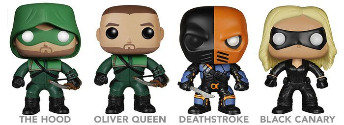 Funko Pop Arrow Figures Keep You Satisfied While You Wait For The New Season -  #arrow #dc #funko