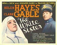 The White Sister (1933) Helen Hayes. Clark Gable