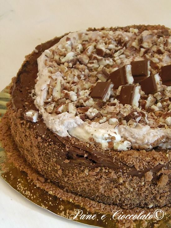 Aria di festicciole di Carnevale???? TORTA KINDER CEREALI e farete la felicita' di tutti ;)  http://blog.giallozafferano.it/ricettepanedolci/torta-kinder-cereali/